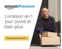 Amazon: 30 jours d'essai gratuit à Amazon Premium (livraison en 1 jour ouvré gratuite)