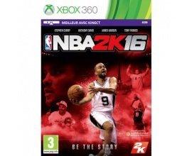 Micromania: NBA 2K16 sur Xbox 360 à 29,99€ au lieu de 49,99€