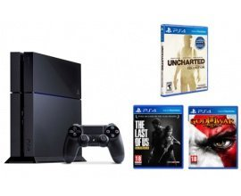 Micromania: PS4 1 To + God of War 3 + The Last Of Us + Uncharted Collection pour 399,99€