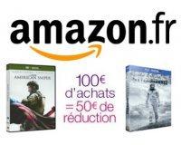 Amazon: 50€ de remise dès 100€ d'achat sur une sélection DVD, Blu-ray & Séries TV