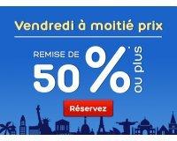 Hotels.com: Jusqu'à -60% sur une sélection d'Hôtels