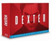 Amazon: Série Dexter - L'intégrale : des saisons 1 à 8 en blu-ray pour 44,99€