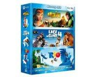Amazon: Epic + L'Age de glace 4 + Rio en Blu-ray 3D pour 18,99€