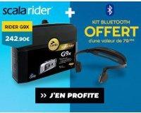 Motoblouz: 1 KIT Bluetooth offert pour l'achat d'un Intercom Cardo Scalarider G9X