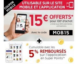 PriceMinister: 15€ de réduction dès 100€ d'achat via les applications ou le site mobile