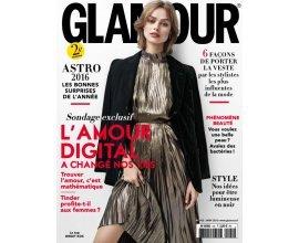 Kiosque FAE: Abonnement 2 ans (24 numéros) au magazine Glamour à 9€ au lieu de 43,20€