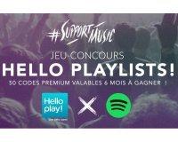 Hello bank!: 50 comptes Premium Spotify de 6 mois à gagner