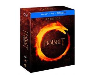 Amazon: Le Hobbit - La trilogie [Combo Blu-ray + DVD + Copie digitale] à 14,99€