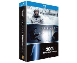 Amazon: Coffret Blu-ray Interstellar + Gravity + 2001, l'odyssée de l'espace à 9,99€