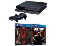 Cdiscount: PS4 500Go + Metal Gear Solid V: The Phantom Pain + COD Black Ops III à 369,99€