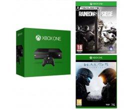 Cdiscount: Xbox One + Rainbow Six Siege + Halo 5 + Cdiscount à volonté offert à 319,99€