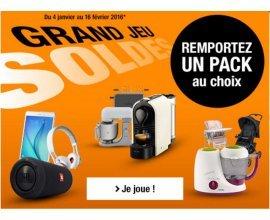 Auchan: Tentez de gagner 1 lot d'objet au choix