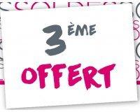 Darjeeling: 2 articles soldés achetés = le 3ème offert