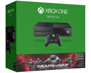 Micromania: Console Xbox One 500Go + Gears of War Ultimate Edition à 199,99€
