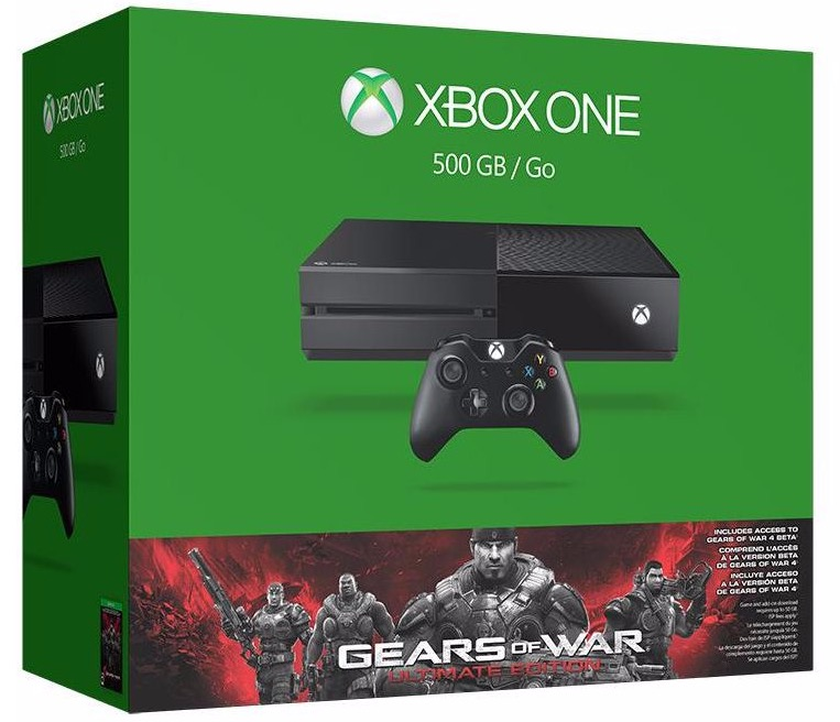 Code promo Micromania : Console Xbox One 500Go + Gears of War Ultimate Edition à 199,99€