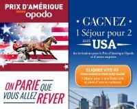 Opodo: 1 séjour pour 2 aux USA & des invitations pour le Grand Prix d'Amérique à gagner