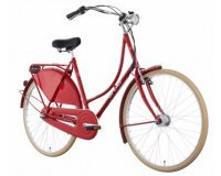 Bikester: Vélo Hollandais Rouge Ortler Van Dyck à 329,99€