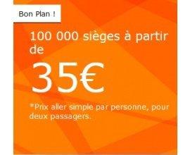 easyJet: 100000 sièges dès 35€ l'aller simple