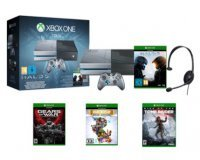 Micromania: Xbox One 1To + Halo 5 + Tomb Raider + Gear of War + Rare Raplay pour 499,99€