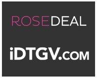 Vente Privée: Rosedeal IDTGV : Payez 20€ le bon d'achat de 40€