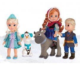 ToysRUs: 5 poupées La Reine des Neiges à 25€ au lieu de 49,99€