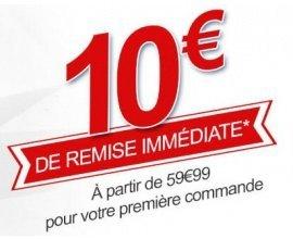Rue du Commerce: 10 € de remise immédiate dès 59,99 € pour votre 1ère commande