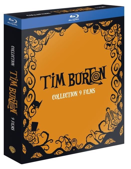 Code promo Amazon : Coffret Tim BURTON 9 Blu-Ray à 29.99€ au lieu de 60.19€
