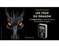"""NRJ Games: Des livres """"les yeux du dragons"""" de Stephen King à gagner"""