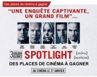 BFMTV: Des places de cinéma pour Spotlight à gagner