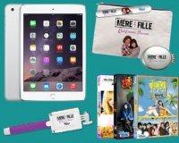 Femme Actuelle: 1 tablette iPad mini, des vanity et des DVD à gagner