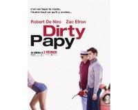 Melty: 10 lots de 2 places de cinéma pour le film Dirty Papy à gagner