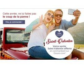 Oscaro: Votre sortie Saint-Valentin offerte en commandant sur le site