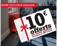 Fly: [En magasin] 10€ offerts en carte cadeau par tranche de 100€ d'achat