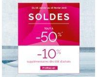 Jacadi: -10% supplémentaires dès 60€ d'achats