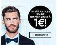 Brice: Le 3ème article soldé ou prix light à 1€