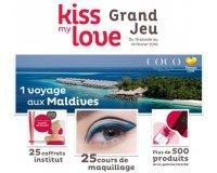 Nocibé: 1 voyage aux Maldives, des coffrets institut, des cours de maquillage.. à gagner