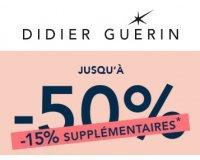 Didier Guérin: -15% supplémentaires sur les bijoux soldés