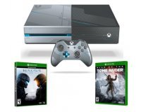 Micromania: Pack Xbox One 1 To + Halo 5 Guardians + Rise of the Tomb Raider pour 399,99€