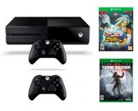 Micromania: Xbox One + 2 manettes + Naruto Ultimate Ninja Storm 4 + Rise of the Tomb Raider