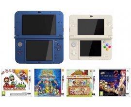 Micromania: Pour l'achat d'une Nintendo NEW 3DS profitez de 20€ de réduction sur un jeu