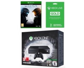 Cdiscount: Xbox One 1To + 2 jeux Tomb Raider + Halo 5 + Xbox Live Gold 3 mois à 349,99€