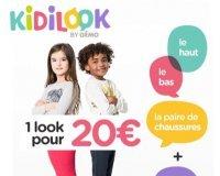 GÉMO: 1 look enfant (le haut + le bas + la paire de chaussures & 1 surprise) pour 20€