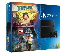 Auchan: PS4 500 Go Lego Jurassic World + Tearaway à 240€ (160€ sur votre carte Waaoh)