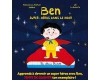 "Tiji: 65 livres ""Ben Super-Heros dans le noir"" à gagner"