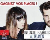 Virgin Radio:  Des invitations pour le concert d'Oh Wonder le 26 février à Paris