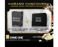 GAME ONE: 1 coffret collector Bravely Default/Second Nintendo 3DS