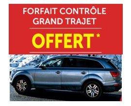 Roady: Forfait contrôle de votre voiture offert dans un centre auto
