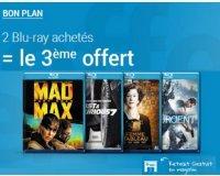 Fnac: Deux Blu-Ray achétés le troisième offert