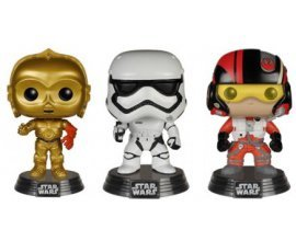 Micromania: Figurines Toy Pop Star Wars épisode VII à 11,99€ au lieu de 15,99€