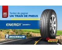 M6: 3 lots de  4 pneus Michelin Energy Saver + à gagner